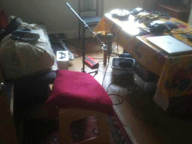 home studio setup hotseat