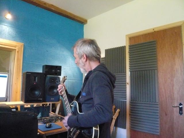 studio shot at Momentum Recording Studios