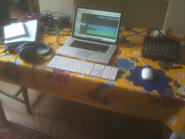 home studio shot - the table