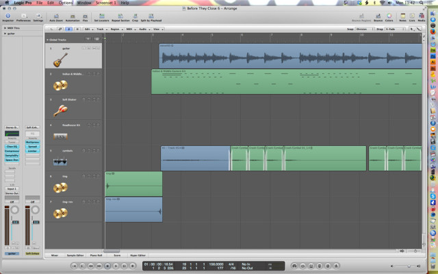 before they close on logic pro